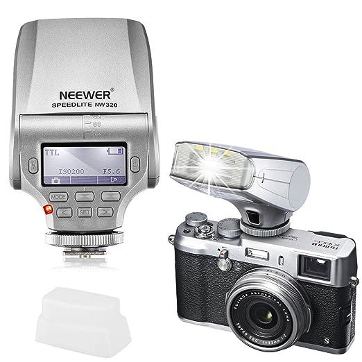 38 opinioni per Neewer® NW320TTL display LCD led-assistive anteprima fuoco flash Speedlite per