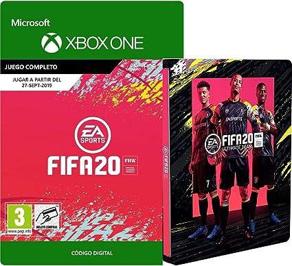 FIFA 20 - Standard Edition [Xbox Download Code] + Steelbook for Standard Edition: Amazon.es: Videojuegos