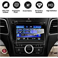 2014-2018 Acura MDX ODMD Display 7-Inch Lower Touch Screen Protector, R RUIYA HD Clear TEMPERED GLASS Guard Shield Scratch-Resistant Ultra HD Extreme Clarity