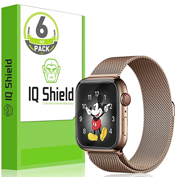 Iq Shield Screen Protector Compatible With Apple Watch Series 4 40mm6 Packeasy Install Liquidskin Anti Bubble Clear Film
