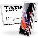 TATE GUARD Galaxy Note 9 専用「3枚セット」保護フィルム「ケースに干渉せず」フレックスタイプ 耐衝撃 指紋防止 Note 9 液晶保護フィルム「TPU保護液晶面フィルム2枚+指紋防止背面保護フィルム1枚」