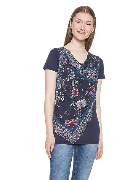buena textura precio competitivo calidad de marca Desigual TS Vicent Camiseta para Mujer