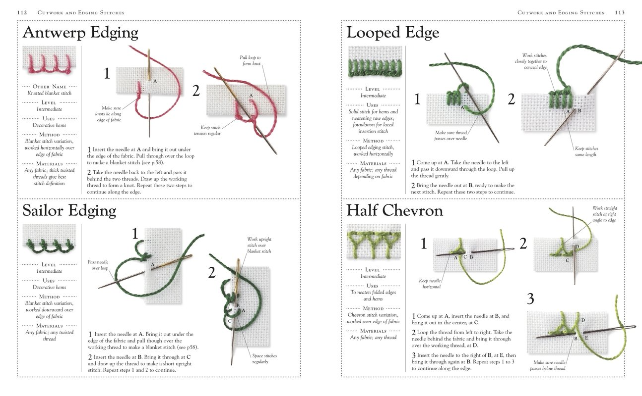 Embroidery A Step by Step Guide to More than 20 Stitches  DK ...