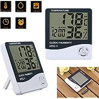 AUTOUTLET 2PCS Termómetro Higrometro Digital para Interior LCD Medidor Profesional para Medición de Temperatura y…