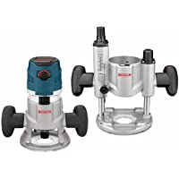 Bosch Variable Speed Combination Plunge & Fixed-Base Router Kit