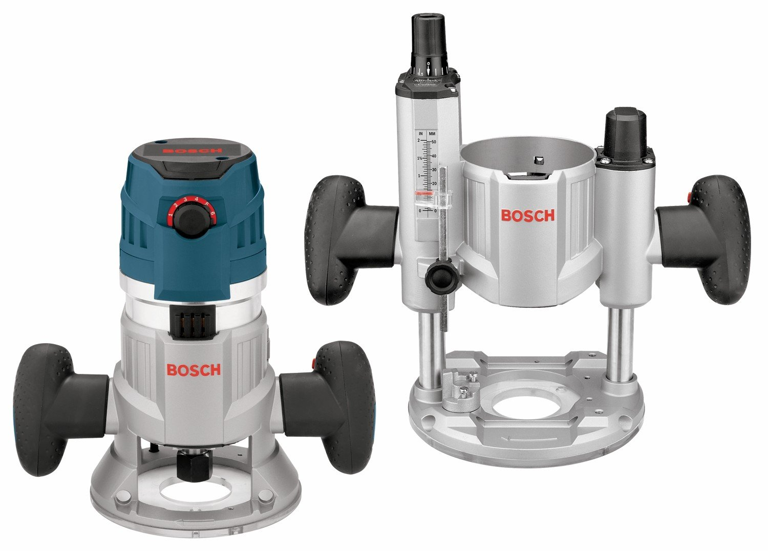 Bosch MRC23EVSK 2.3 HP Combination Plunge & Fixed-Base Variable Speed Router Pack by Bosch (Image #1)