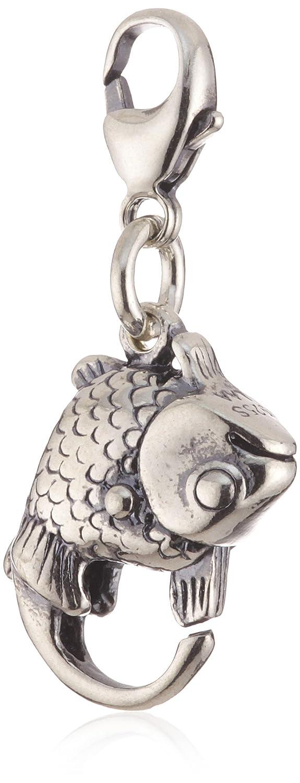 accessoires Femme 10102 Bijoux Poisson Trollbeads Argent 925//1000