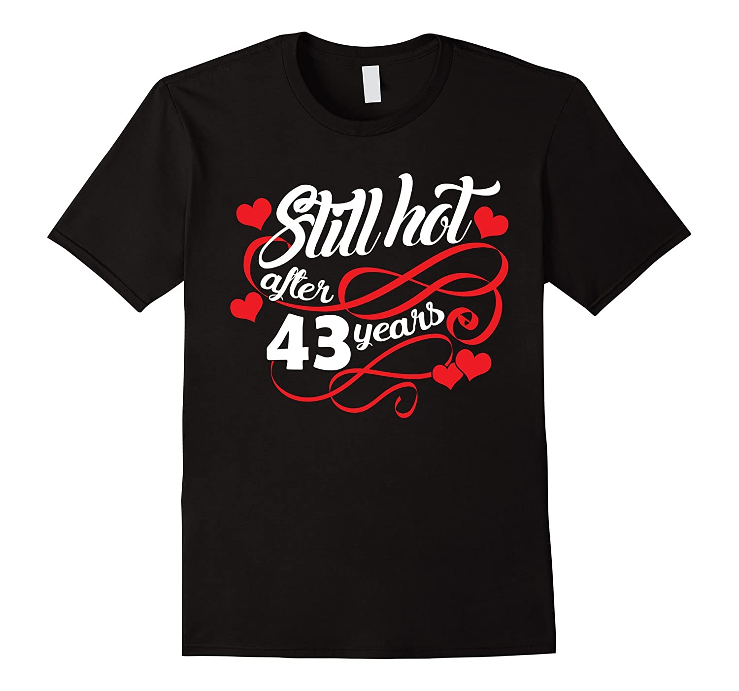43rd Wedding Anniversary T Shirt For Husband And Wife Pl Polozatee