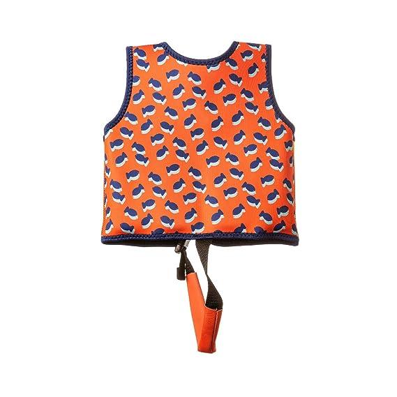 MUNDO PETIT -Chaleco de Ayuda a la flotabilidad Aprendizaje de la natación, Ideal para peques de 9 a 18 kg (Peces): Amazon.es: Juguetes y juegos