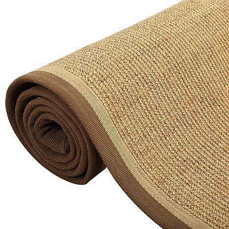 LJ&XJ Alfombra de sisal,Anti Slip alfombras felpudos Wear ...