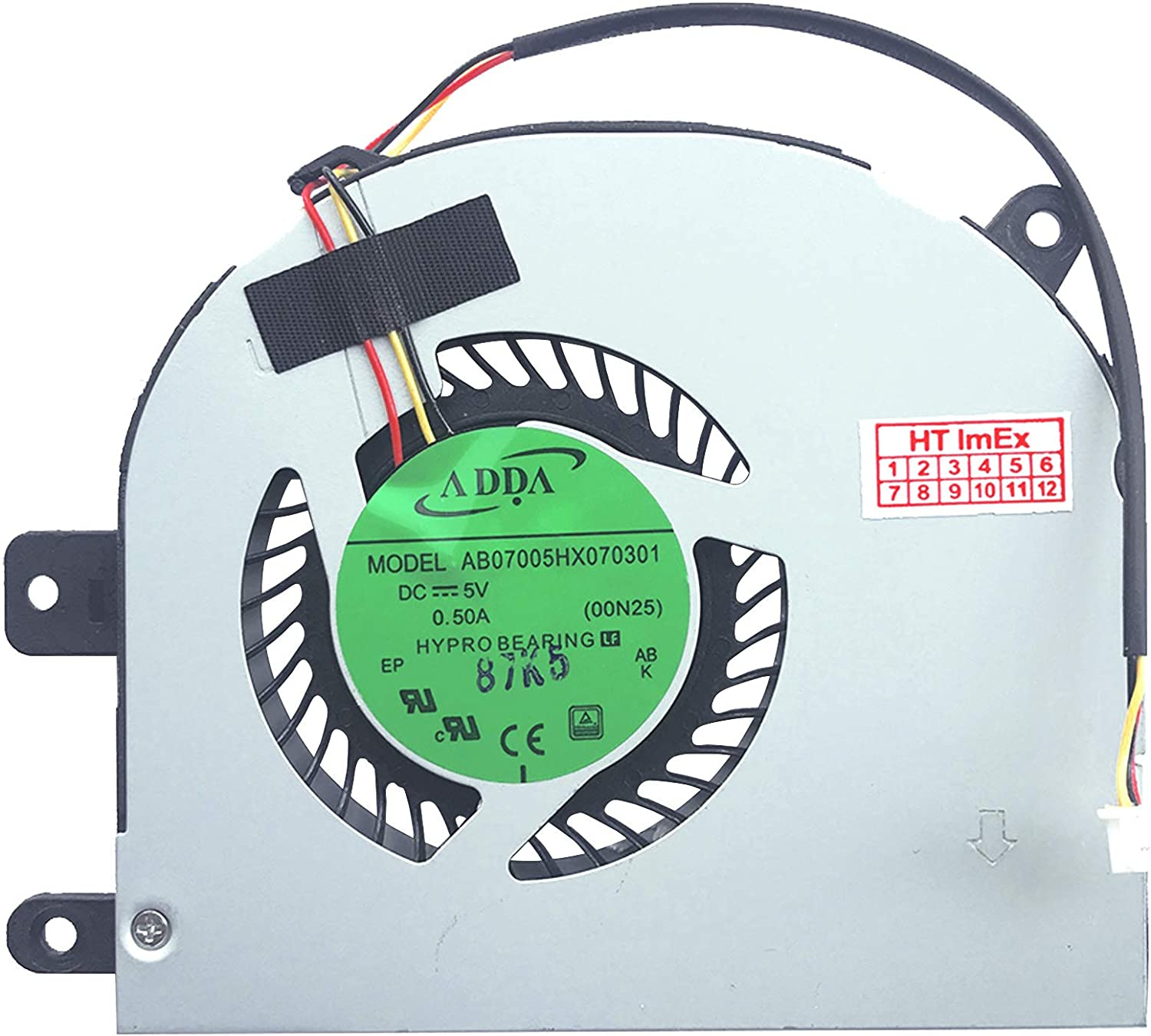 P//N: 6-31-N2503-102 P//N: 6-31-N2503-102-1 Model: DFS531005FL0T-FH30 HT-ImEx Fan Cooler Compatible with Model: AB07005HX070301-00N25