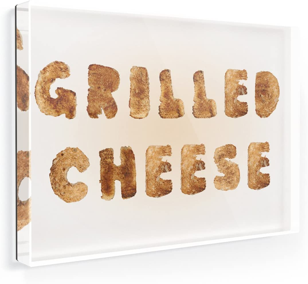 Fridge Magnet Grilled Cheese French Toast Bread - NEONBLOND