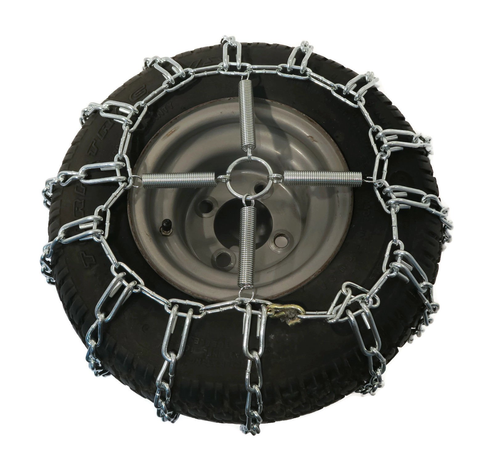 The ROP Shop 2 Link TIRE Chains & TENSIONERS 23x10.5x12 for MTD Cub Cadet Lawn Mower Tractor by The ROP Shop (Image #5)