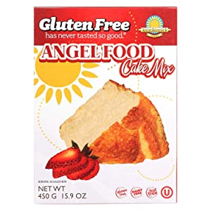 Kinnikinnick Gluten Free Angel Food Cake Mix, 16 Ounce - 6 per case.
