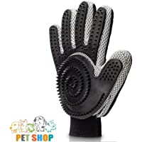 Five Finger Right Hand Grooming Glove with Over 300 Silicone Grooming Tips