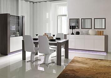 Wunderbar Esszimmer Komplett   Set   Dorida, 6 Teilig, Farbe: Weiß Hochglanz