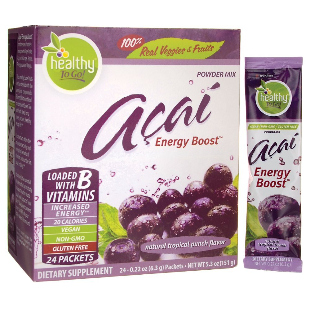 Acai Energy 24 Packets by To Go Brands