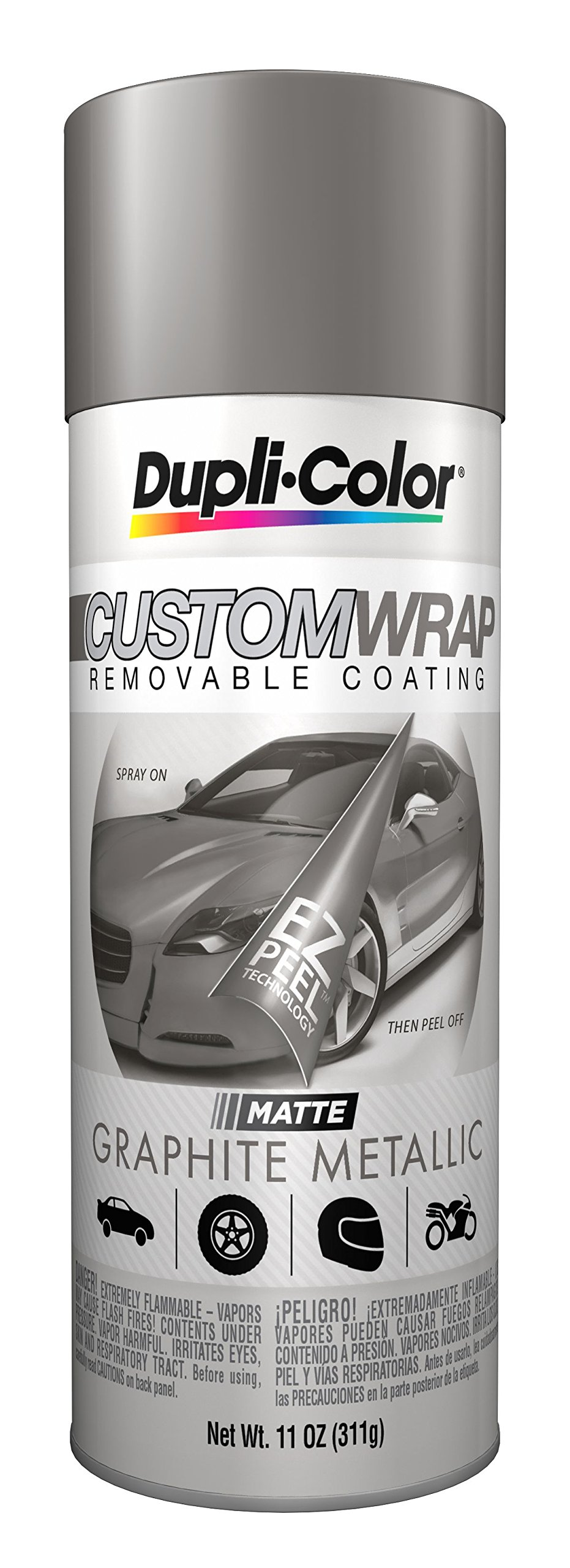 Dupli-Color ECWRC7977-6 PK Custom Wrap Removable Coating - 11 fl. oz, (Pack of 6)