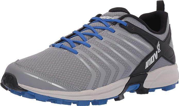 INOV-8  Women/'s ROCLITE 300  Running Shoe Blue//Grey