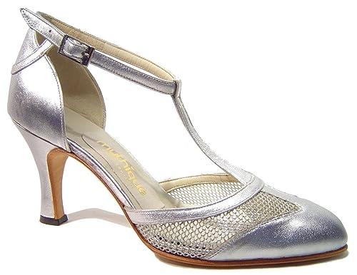 Zapatos De Tango Para Dama Salsa Latino Baile Mujer - Mythique - Soledad - Talla 42: Amazon.es: Zapatos y complementos