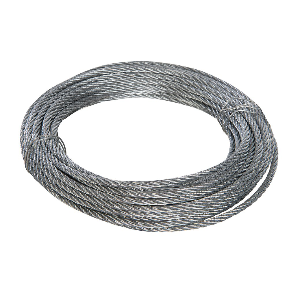 6 Pack Of  Zinc Plated Steel  Wire Rope Thimble 3Mm 1//8 Inch Bzp