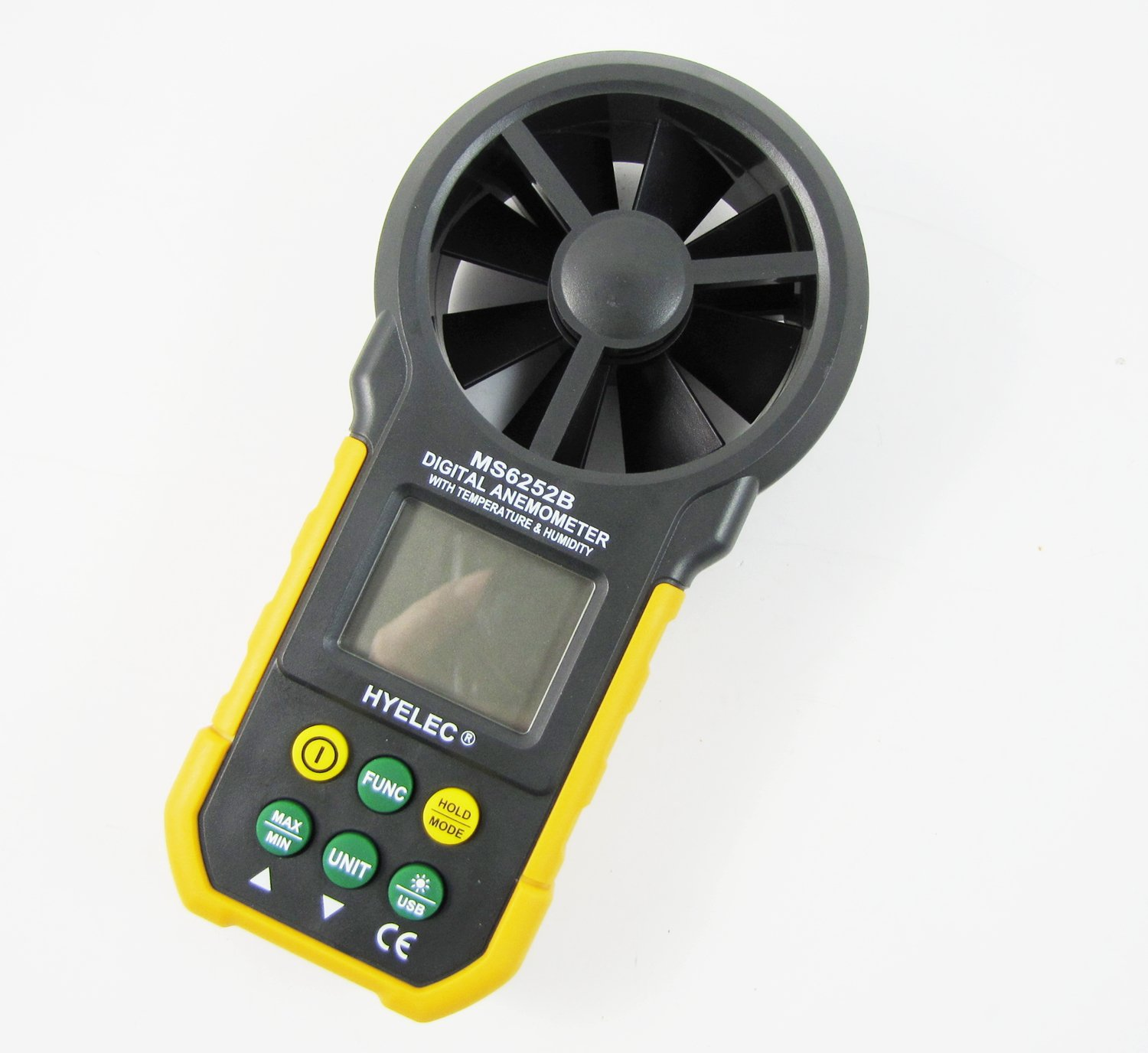 Digital Anemometer Air Volume Measurement LCD Back Light eerel