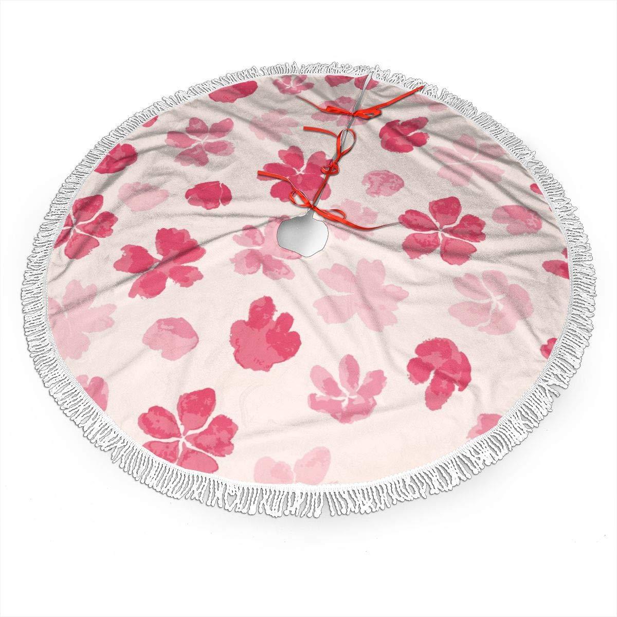 WETG Sakura - Falda para árbol de Navidad para decoración, Año ...