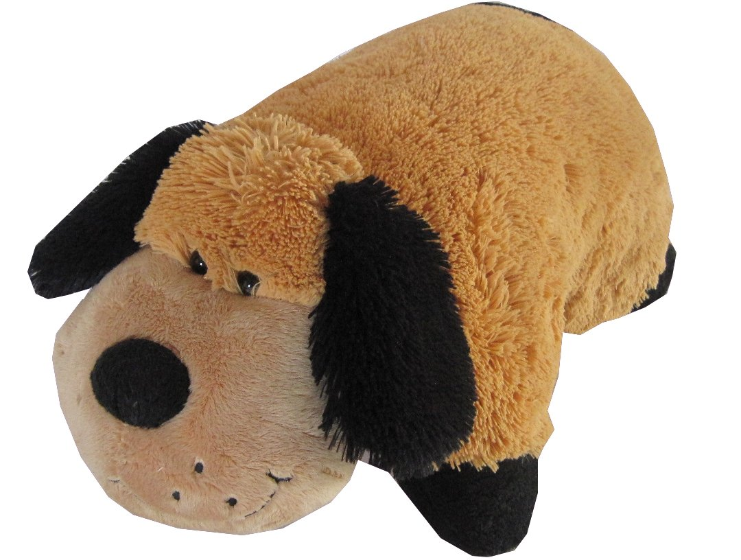 Stuffed Animal Dog Pillow : Dog Zoopurr Pets 2-in-1 Stuffed Animal and Pillow Large 19