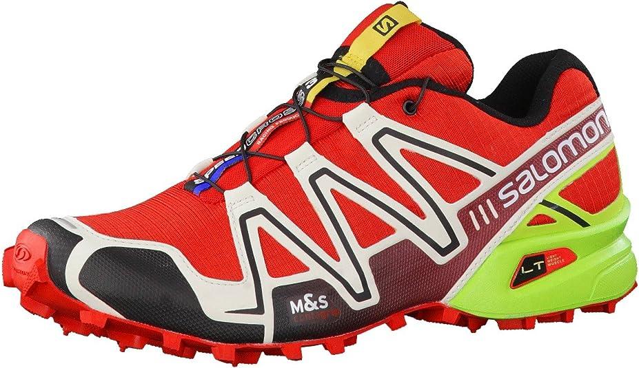 Salomon Speedcross 3 Zapatilla De Correr para Tierra - SS16-49.3: Amazon.es: Zapatos y complementos
