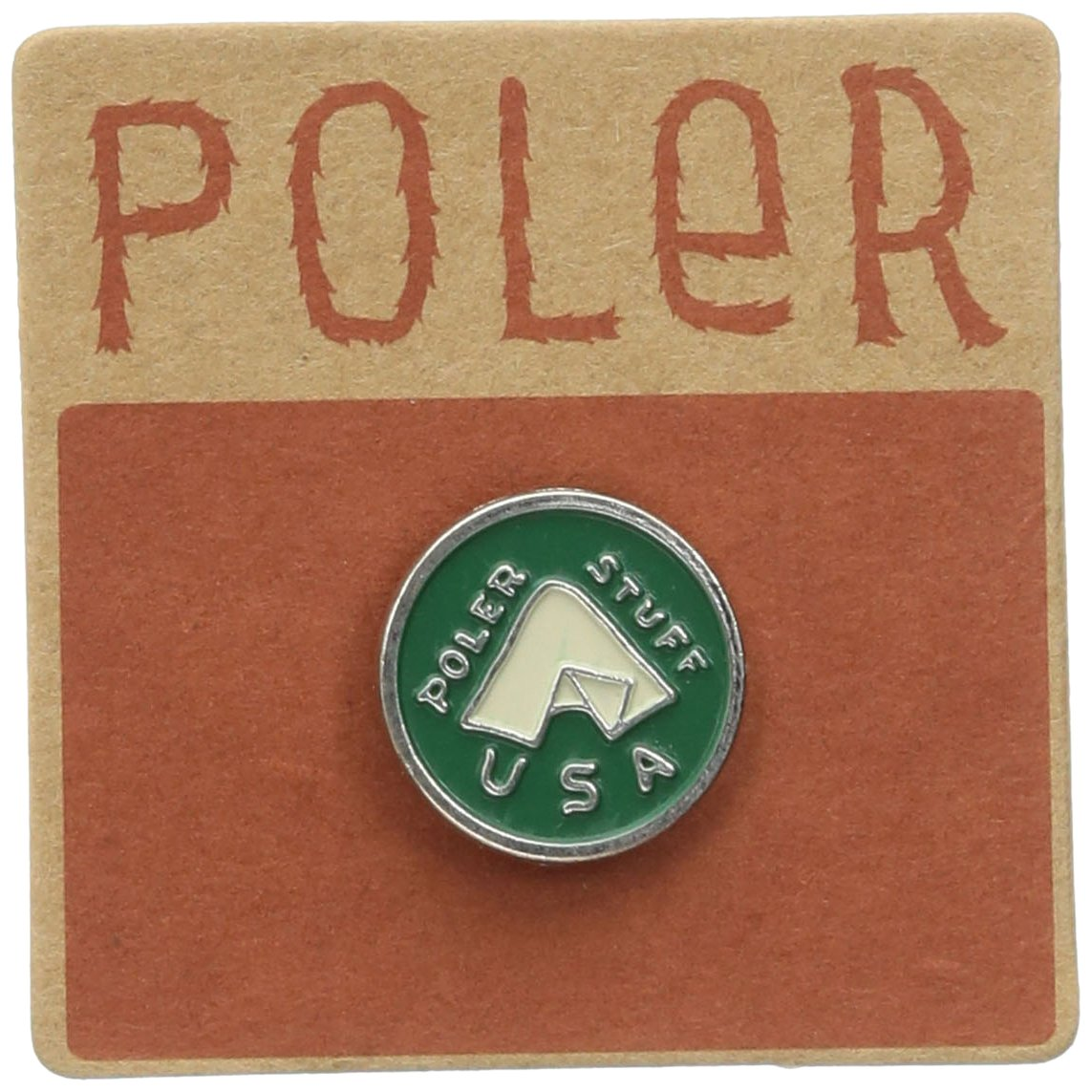 Poler Men's Tent Pin Poler Men's Tent Pin Multi One Size Poler Young Mens Child Code