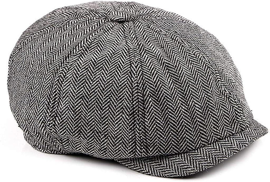 Newsboy Hats Plaid Printed...