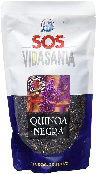 SOS Vidasania Quinoa Negra 200G - [Pack De 12] - Total 2400 Gr ...