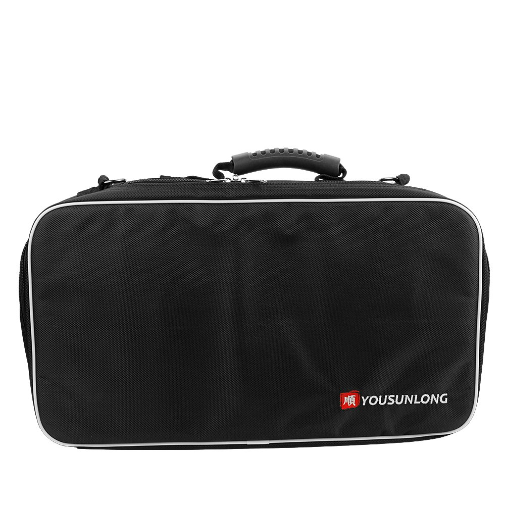 YOUSUNLONG Knife Bag for Chefs Premium Culinary Knife Bag Knives Protector w/21 Pockets & 3 Zipper Compartments
