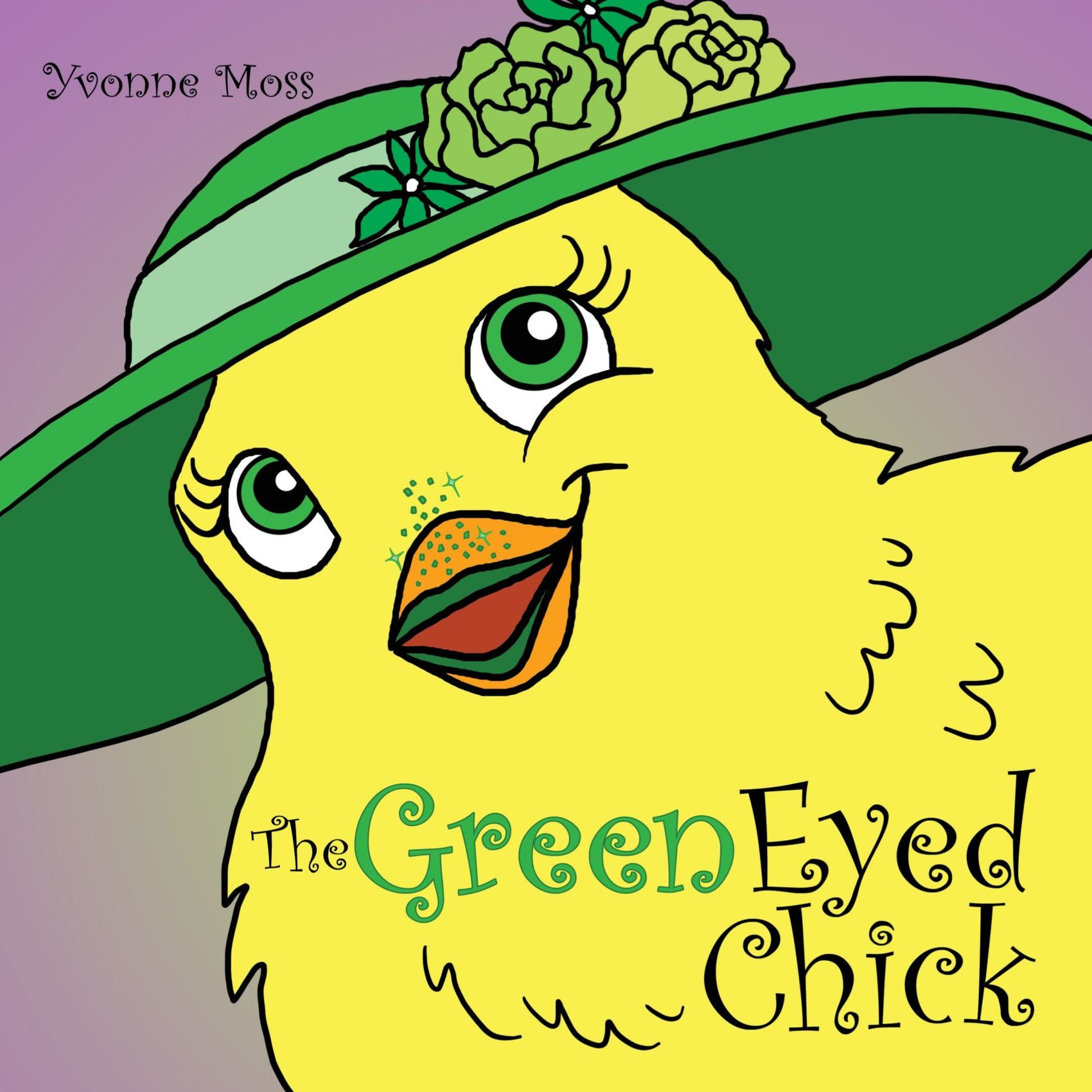 The Green Eyed Chick: Yvonne Moss: 9781463400514: Amazon com
