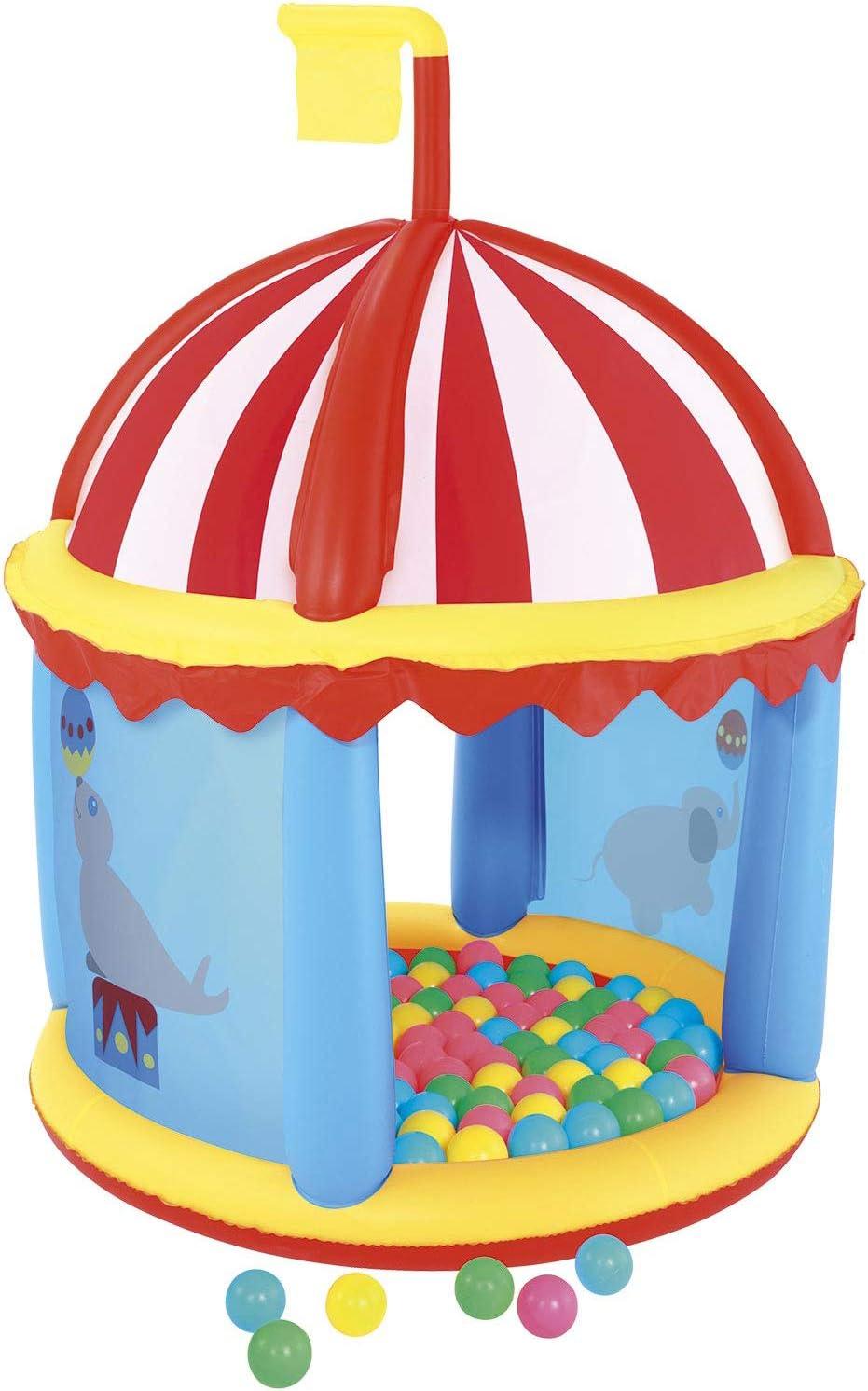 Piscina de Bolas Hinchable Bestway Circo: Amazon.es: Juguetes y juegos