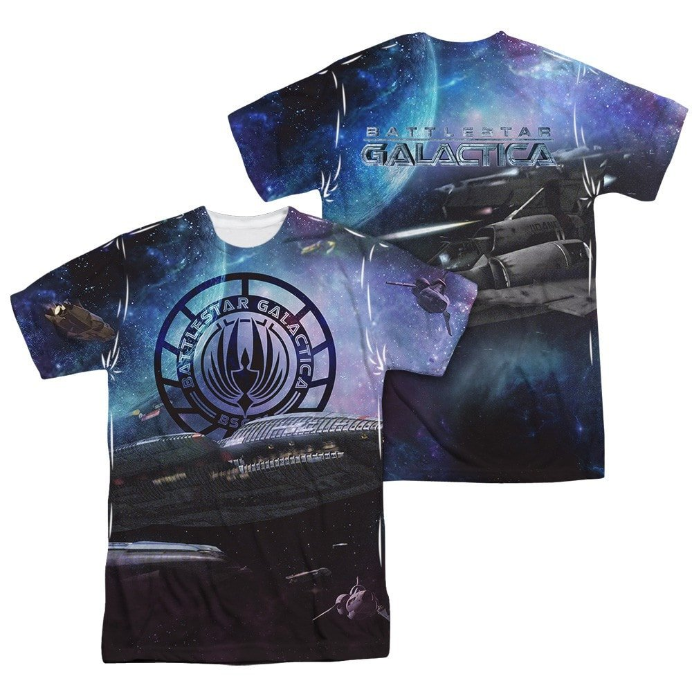 Bsg New Star Crusing Adult All Over Print 100/% Poly T-Shirt