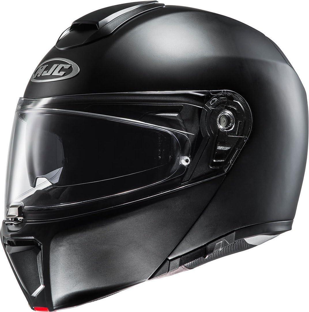 HJC Casque Moto RPHA 90 Semi Taille L Noir