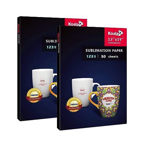 Amazon.com: Koala - Papel de transferencia por sublimación ...