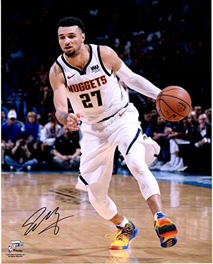 the best attitude 713a1 199a4 Jamal Murray Denver Nuggets Autographed 16
