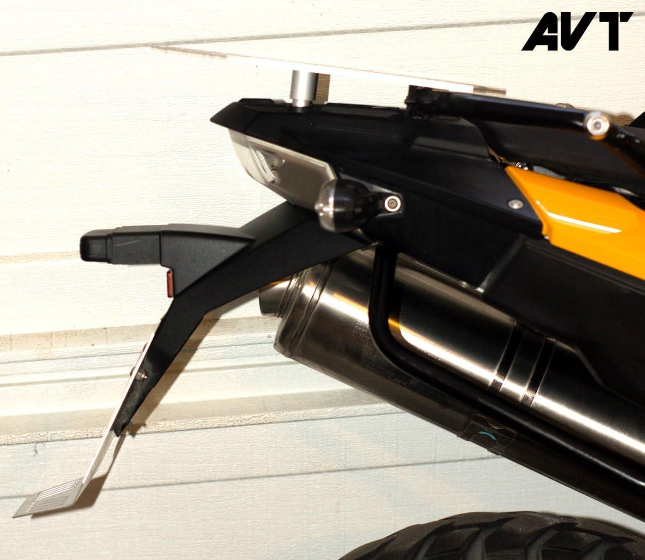 F700GS F800GS Rear Fender Extender//Mud Flap BLACK AVT F650GS Twin