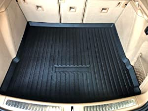 Rear Trunk Liner Tray Mat Pad for PORSCHE MACAN 2015 2016 2017 2018 2019 2020 Floor Cargo Cover Tray Protection Dirt Mud Snow All Weather Season Waterproof WaterResistant 3d Laser Measured Custom Fit