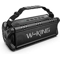 W-KING 50W Bluetooth Speaker, Portable Wireless Speakers Waterproof with 24 Hours Playtime,…