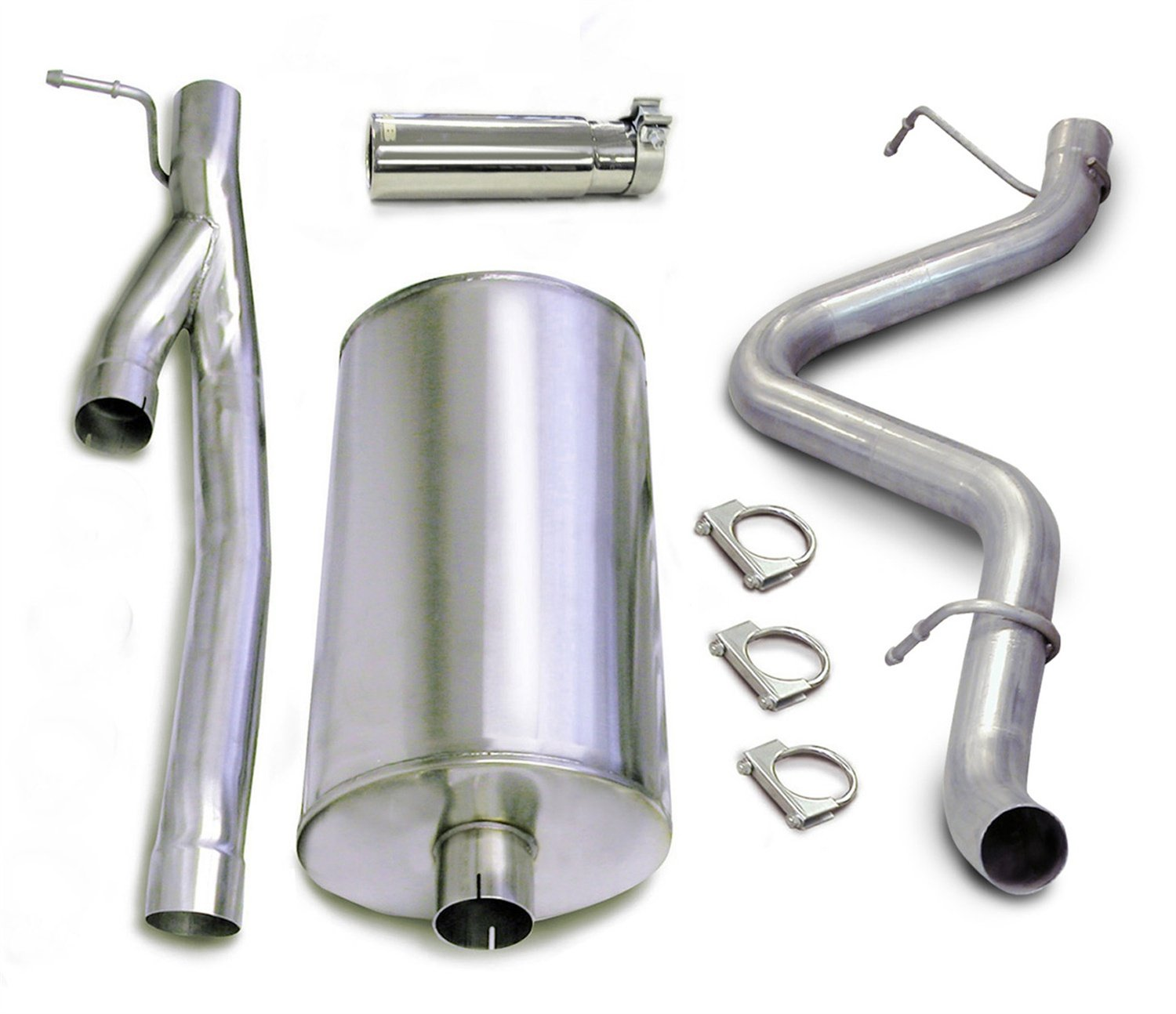 CORSA 24296 Stainless Steel Single Side Exit Cat-Back Exhaust System Kit by Corsa (Image #1)