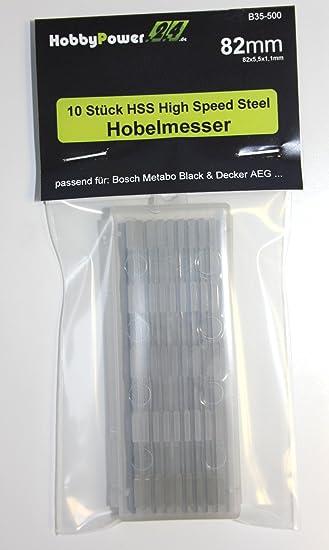 Metabo HO0882 Messer HM Wendemesser Hobelmesser 2st Nut Oben HO 0882