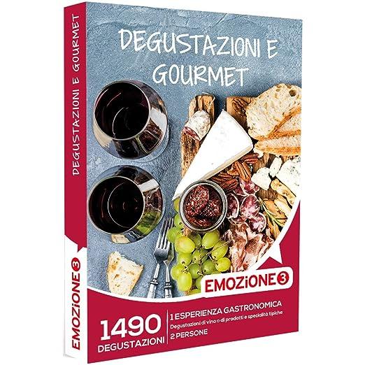 2 opinioni per EMOZIONE3- Cofanetto Regalo- DEGUSTAZIONI E GOURMET- 1490 esperienza