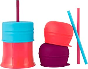 Boon Baby-Girls Snug Straw with Cup