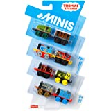 Thomas and Friends Minis Pack of 6 / 8 or Carry Case with 2 Trains - Brilliant Stocking Filler Thomas The Tank Engine Toys (8 pack)