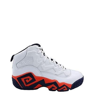 Fila Men's MB Jamal Mashburn Retro Basketball Sneakers Shoes White Size 11   Fashion Sneakers