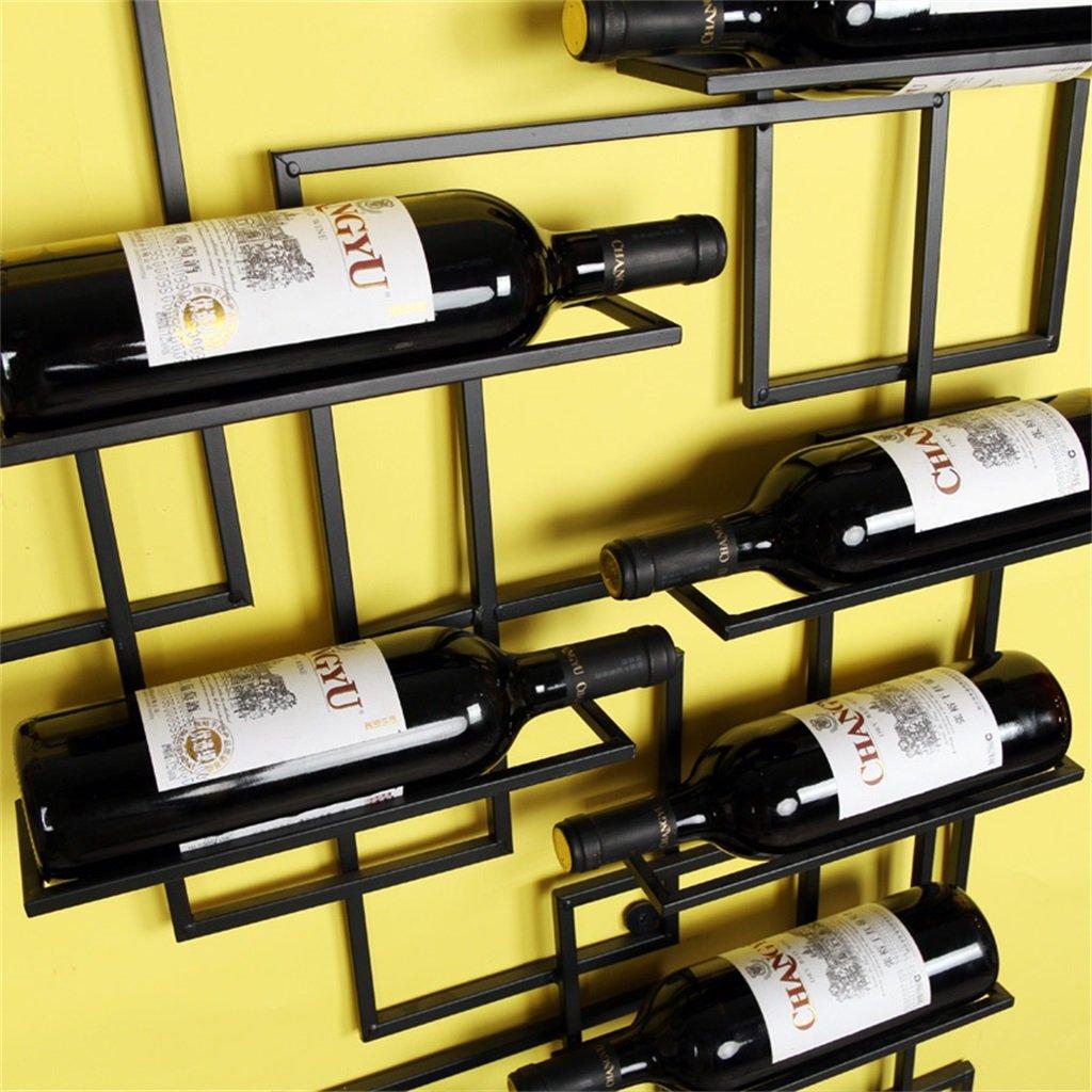 Amazon.com: Vintage Wine Racks Wall Holder Metal Bar   Wine Bottle ...