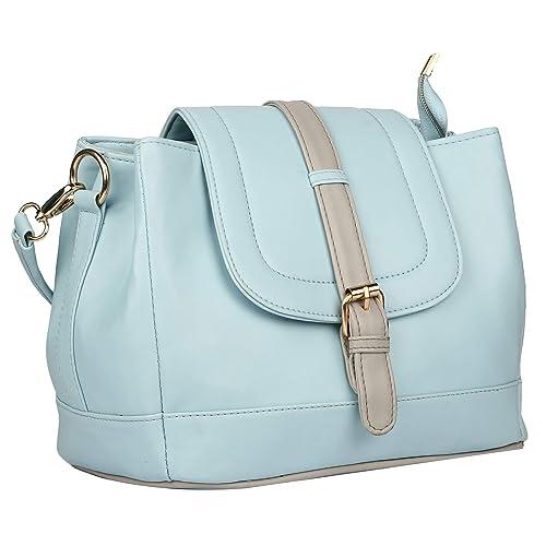 Roseberries Women Sling bag Green and Grey color  Amazon.in  Shoes    Handbags 90d961e8d197e
